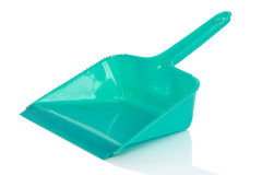 Green cleaning scoop Stock Image