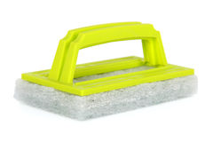 Green cleaning sponge Royalty Free Stock Image