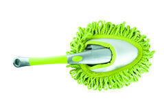 Green cleaning tool equipment Royalty Free Stock Photo