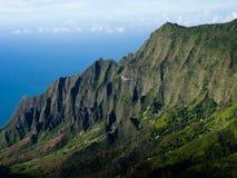 Green cliffs Stock Photography