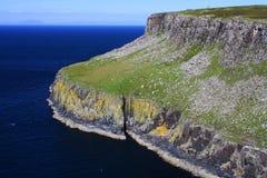 Green cliffs, scotland Stock Photography