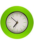 Green Clock Stock Image