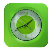 Green Clock Royalty Free Stock Images