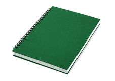 Green Closed Book Royalty Free Stock Photos
