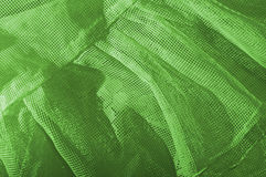 Green cloth mesh type Stock Photo