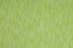 Green cloth with stripes Stock Image