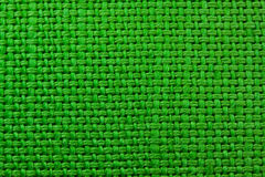 Green cloth texture Royalty Free Stock Images