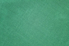 Green cloth texture Stock Photography