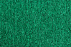 Green cloth texture macro Stock Image
