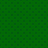 Green clover background for St. Patricks Day. Seamless pattern.  Illustration for St. Patrick's day  posters, greeting cards, print and web projects Stock Photos
