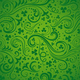 Green Clover Backgrounds Stock Image