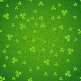 Green clover backgrounds Royalty Free Stock Photo