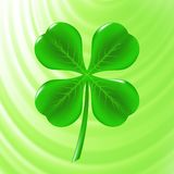 Green Clover Icon Royalty Free Stock Image
