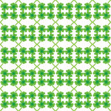 Green clover leaf pattern Royalty Free Stock Photography