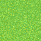Green clover pattern Stock Image
