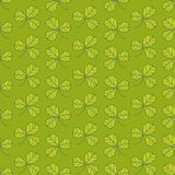 Green clover pattern Stock Photos