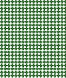 Green clover pattern Stock Images