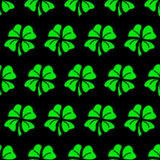Green clover seamless pattern background Royalty Free Stock Images