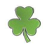 Green clover shamrock Stock Photography