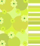 Green clovers Stock Images
