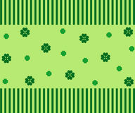 Green clovers Royalty Free Stock Photo