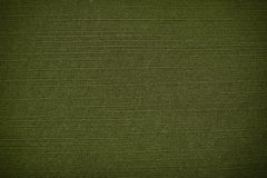 Green coarse canvas background Royalty Free Stock Photos