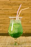 Green cocktail Royalty Free Stock Images