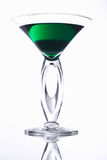 Green cocktail. Luxurious cocktail Royalty Free Stock Photo