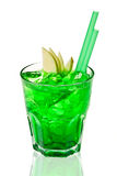 Green cocktail Royalty Free Stock Image