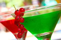 Green cocktail Royalty Free Stock Photo