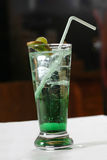 Green cocktail Royalty Free Stock Photography