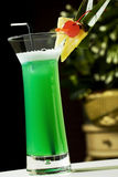 Green cocktail Stock Photos
