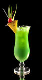 Green Cocktail With Pineapple Royalty Free Stock Images