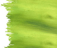 Green coconut paper with brushstroke Stock Photo
