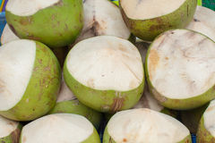 Coconuts. Green Coconuts Food And Drink Royalty Free Stock Photos