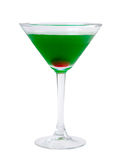 Green coctail drink Stock Photography