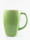 Green cofee cup Royalty Free Stock Photography