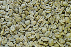Green Coffee Beans. Royalty Free Stock Photo