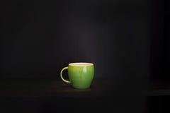 Green coffee mug Royalty Free Stock Photo