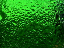 Green color 1. Series of the dripped glass. Green color 1 Stock Image
