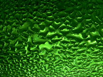 Green color 2. Series of the dripped glass. Green color 2 Stock Photo