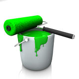 Green Color Royalty Free Stock Image