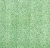 Green color artificial leather surface. Royalty Free Stock Photography