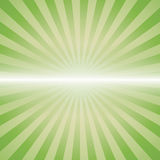 Green color burst background. Royalty Free Stock Photo