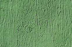 Green color cement wall surface. Royalty Free Stock Photos