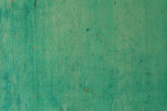Green color concrete wall Stock Image