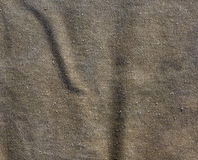 Green color cotton canvas pattern. Stock Photos