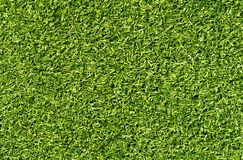 Green color decorative grass loan for sport and leisure. Abstract background and texture stock photo