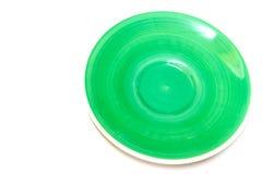 Green color dish Royalty Free Stock Photo