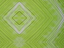 Green color fabric abstract Stock Photography